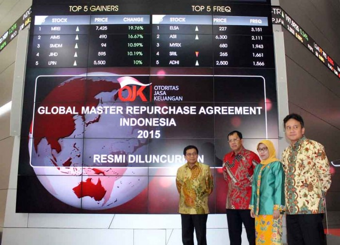 Peluncuran Global Master Repurchase Agreement Indonesia 2015 –