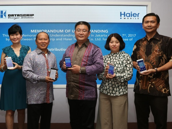 Gandeng datascrip, Haier Luncurkan Leisure L7