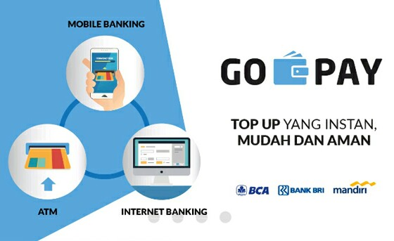BCA Gratiskan Top Up GoPay