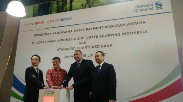 Stanchart Bank Pasok Kredit Modal Kerja Supplier Lotte