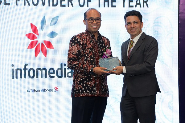"Infomedia Sabet ""Indonesia Contact Center Service Provider of The Year"""