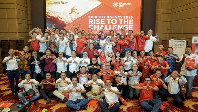 Bhinneka Life Gelar Roadshow Kick Off Agency 2019