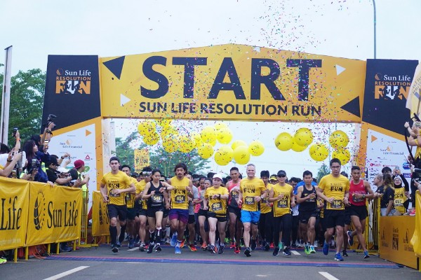 Sun Life Resolution Run 2019