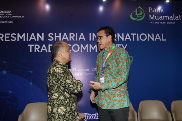 Peresmian Sharia International Trade Community