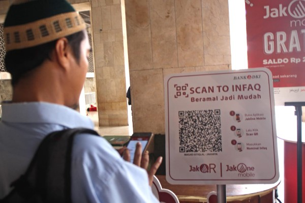 Scan To Pay Infaq JakOne Mobile