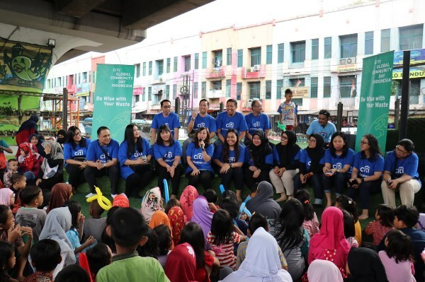 Citi Gelar GreenEdu with Street Children