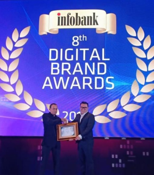 Perum Perindo Sabet Peringkat Pertama Digital Brand of The Year 2019