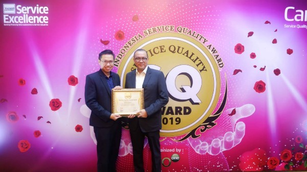 WOM Finance Sabet Service Quality Award 2019