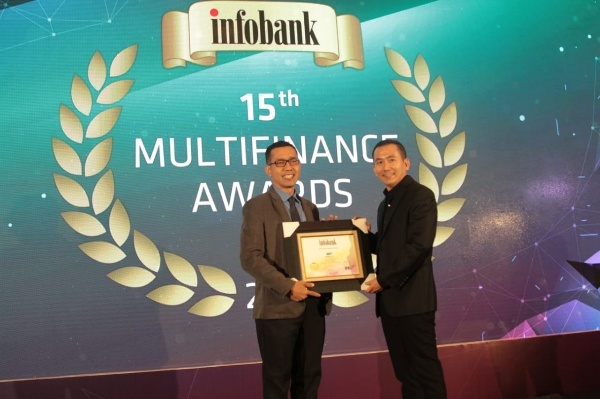 WOM Finance Raih Infobank Multifinance Award 2019
