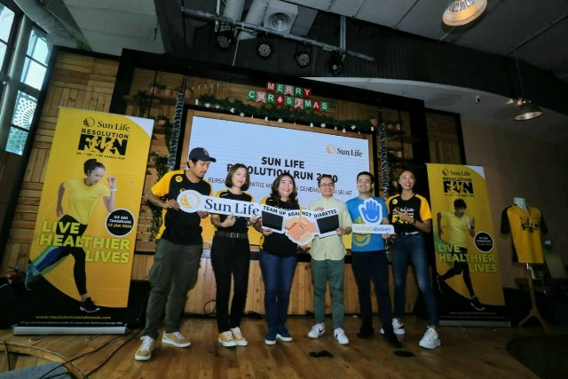 Sun Life Gandeng Komunitas Gelar Resolution Run 2020