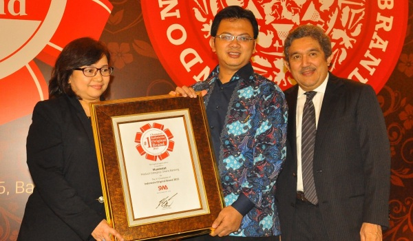 Bank Muamalat Raih Indonesia Original Brand 2015
