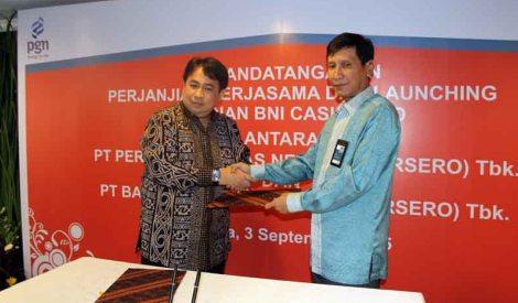 PGN Gunakan Cash Card BNI