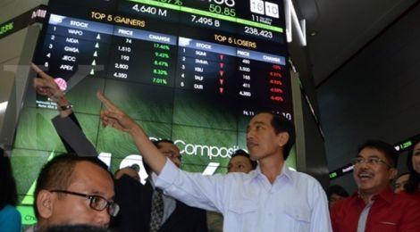 Menunggu Efek Paket Kebijakan Ekonomi Jokowi