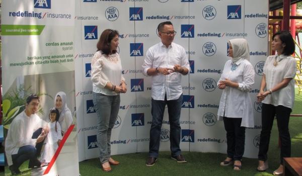 AXA Financial Indonesia Luncurkan Asuransi Pendidikan Syariah