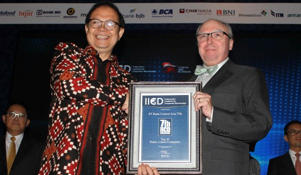 BCA Kembali Raih Corporate Governance Award 2015