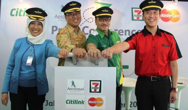 Pakai Debit MasterCard, Beli Tiket Citilink di 7-Eleven