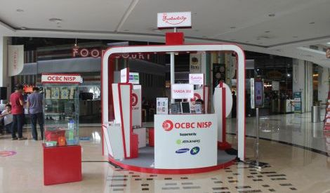 OCBC NISP Rilis e-Money di HUT ke-75