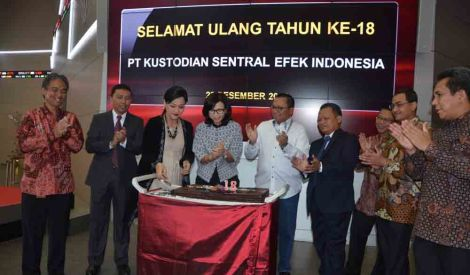 KSEI Gandeng Taiwan Depository and Clearing Corporation