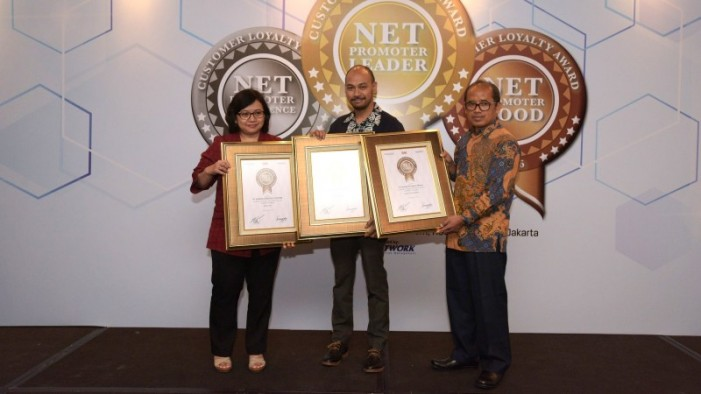 Honda Raih Net Promoter Customer Loyalty Award 2016