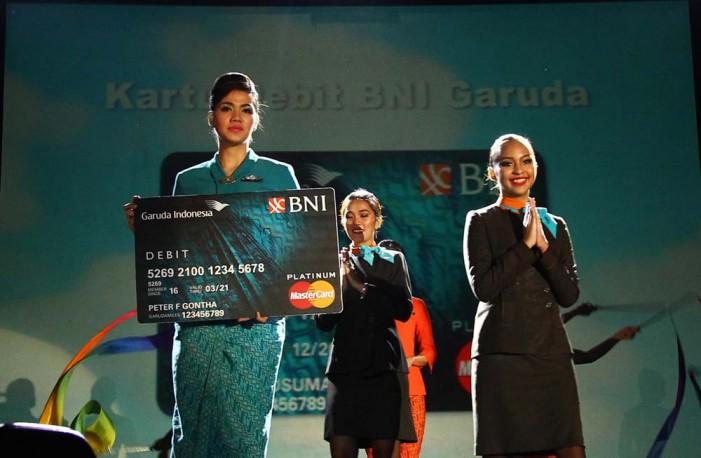 Pemegang Kartu Kredit Garuda BNI Tembus 40.000