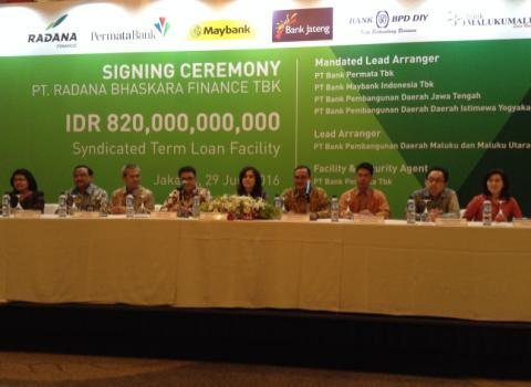 PermataBank Pimpin Sindikasi Kredit Rp820 Miliar ke Radana Finance