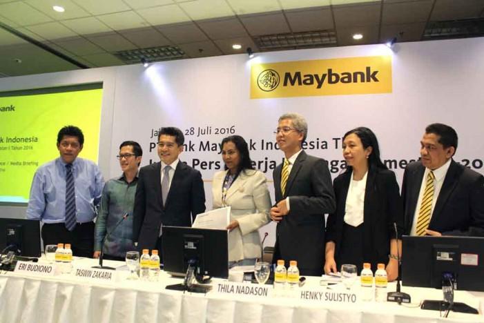 Semester I 2016, Bisnis Syariah Maybank Melonjak