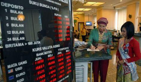 BI: Juni 2016 Suku Bunga Kredit Turun Jadi 12,38%