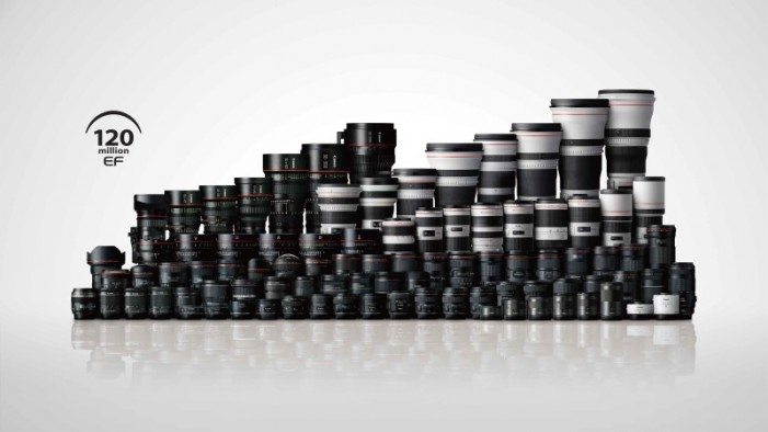Agustus 2016, Produksi Canon Lensa EF Mencapai 120 Juta Unit
