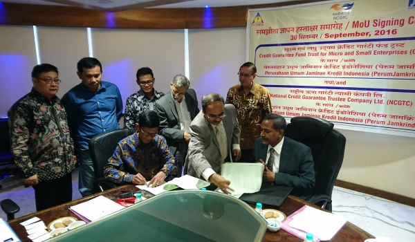 Jamkrindo Jalin kerjasama dengan Lembaga Penjaminan India