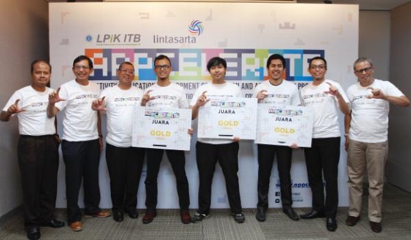 Ini Tiga Startup Pemenang Lintasarta Appcelerate 2016