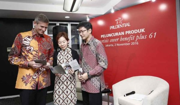 Prudential Luncurkan PRUcrisis Cover Benefit Plus 61