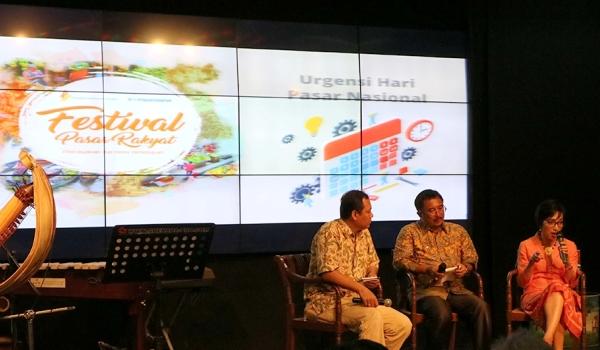 Yayasan Danamon Peduli Gelar Diskusi Soal Pasar Rakyat