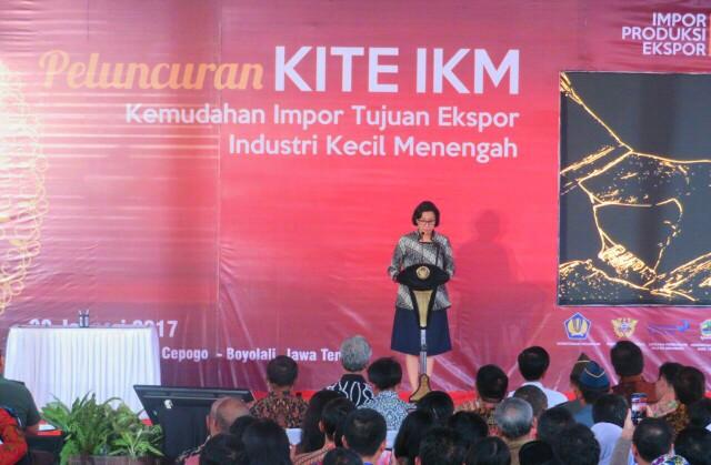Fasilitas KITE-IKM Dorong Efisiensi IKM Hingga 25%