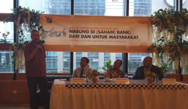 BNI Securities Siap Tangani 6 IPO di 2017