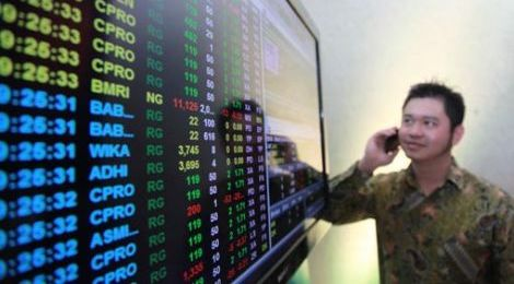 IHSG Ditutup Menguat 45 Poin