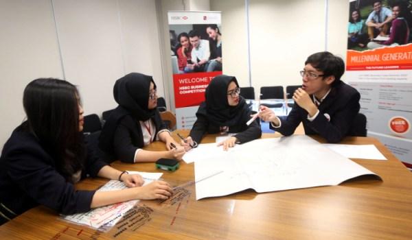 HSBC Bersama PSF Gelar Kompetisi Bisnis