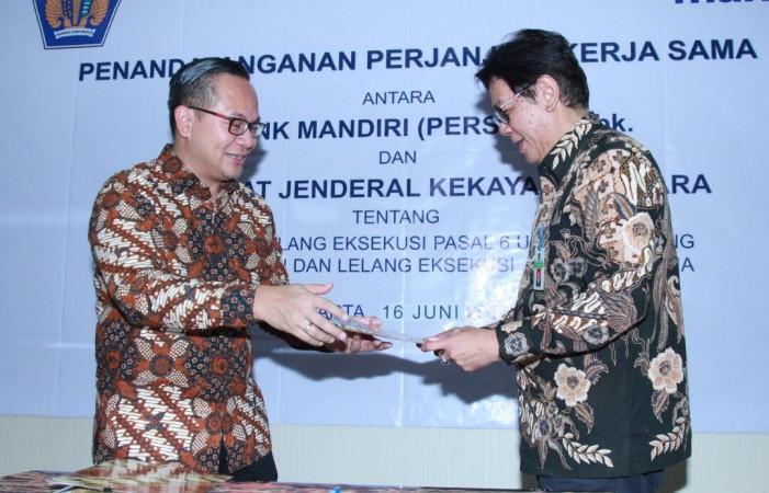 Sinergi Bank Mandiri dengan DJKN