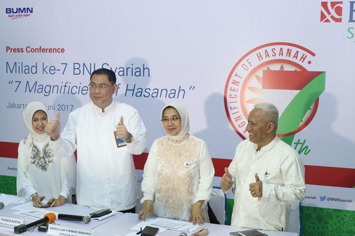 Milad ke-7, BNI Syariah Usung 7 Magnificient of Hasanah