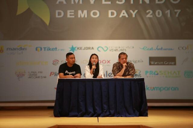 Kembangkan Startup Amvesindo Demo Day Digelar
