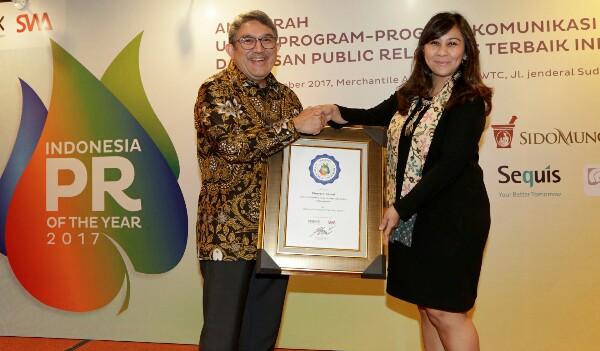 Citi Indonesia Raih Dua Penghargaan Indonesia PR of The Year 2017