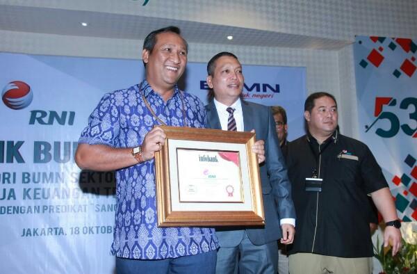 Hari Jadi ke-53, RNI Raih Kado Infobank BUMN Award 2017