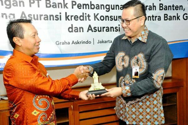 Bank Banten Gandeng Askrindo Kerja Sama Asuransi Kredit