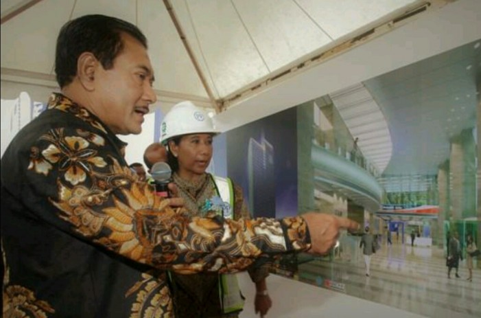 Groundbreaking Pembangunan Menara BRI