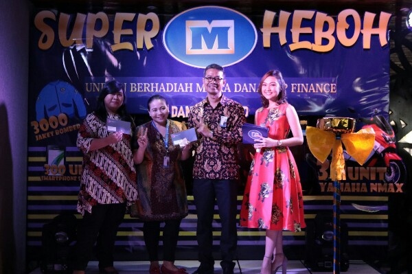 Mitra Dana Top Finance Rampungkan Undian Super Heboh