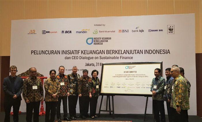 Muamalat Ikut Luncurkan Inisiatif Keuangan Berkelanjutan Indonesia