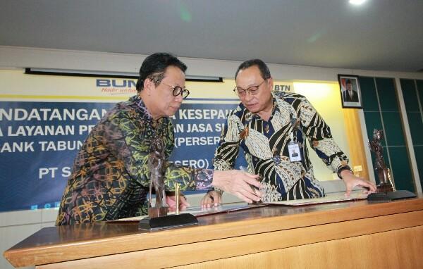 Perjanjian Kerja Sama BTN dan Sucofindo