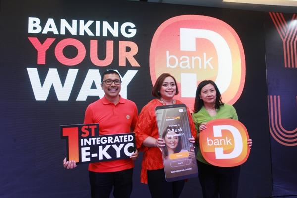 Peluncuran Aplikasi D-Bank