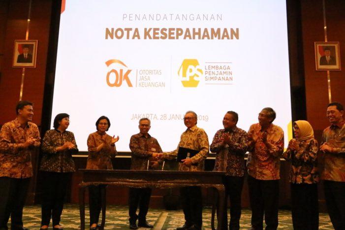 LPS Bersama OJK Tingkatkan Kerjasama dan Koordinasi Pengawasan