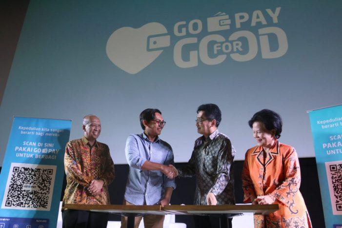 Permudah Pembayaran, Filantropi Indonesia Gandeng Go-Pay