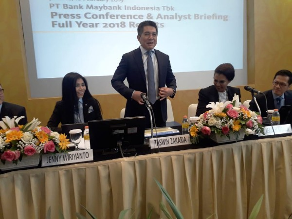 Maybank Indonesia Harap Suku Bunga BI Stabil di 2019